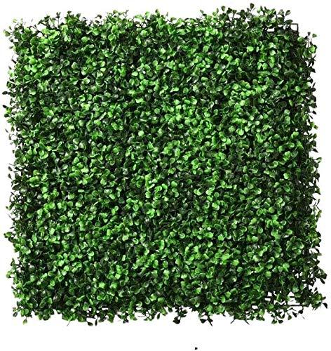 Estera de boj artificial decoración de cobertura de pared panel de valla de privacidad césped para decoración de jardín al aire libre 25 * 25 CM