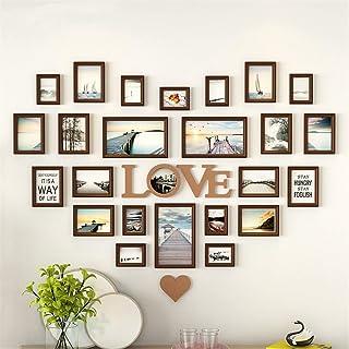 KAYBELE Foto de la Pared de la Pared Sala de la Pared Fotos en Forma de corazón Wall European Decoration Creative Love Lov...