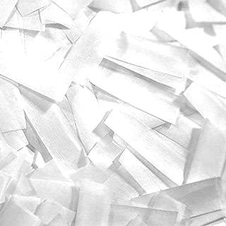 Ultimate Confetti White Tissue Confetti-Biodegradable-Perfect for Weddings-Events-Clubs-Confetti Blowers-Slow Falling