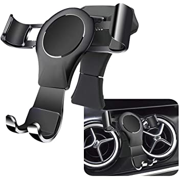 LUNQIN Car Phone Holder for 2015-2020 Mercedes Benz GLA GLA200 250 260 CLA 2014-2018 CLA220 Auto Accessories Navigation Bracket Interior Decoration Mobile Cell Phone Mount