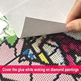 Diamond Painting Tools Release Paper Non-Stick Cover Replacement Paper for Diamond Painting, Ideal Gift Accessories Kits for Kids Adults.