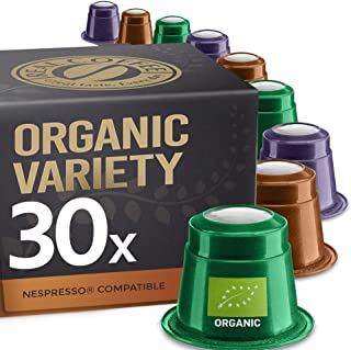 Organic Selection by REAL COFFEE, Denmark, 30 Capsules, Nespresso Compatible