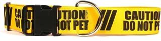 Yellow Dog Design | Caution Do Not Pet Dog Collar, 2