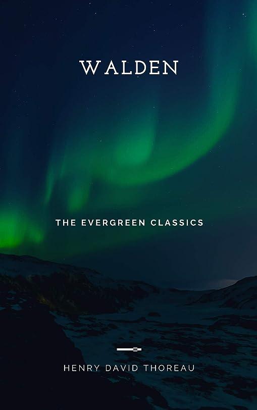 リース紳士典型的なWalden: Illustrated (Evergreen Classics) (English Edition)