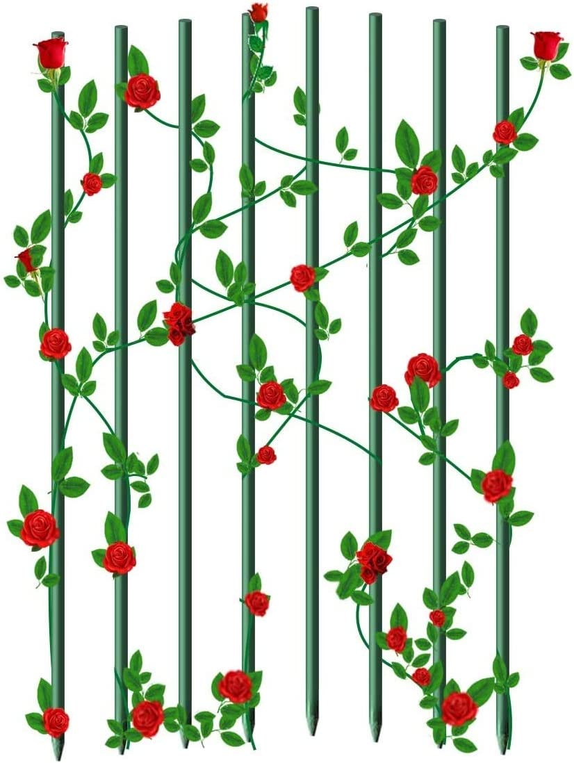 Genuine Super intense SALE EcoStake Garden Stakes Plant for Sunflower Orchid o Pack