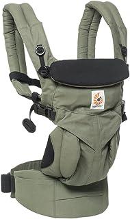 Ergobaby Omni全阶段四式360婴儿背带-卡其绿BCS360GRN