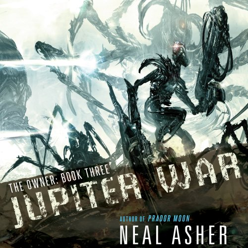 Jupiter War audiobook cover art