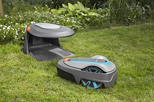 GARDENA Garage für Mähroboter – Unterstellmöglichkeit für Rasenroboter - 6