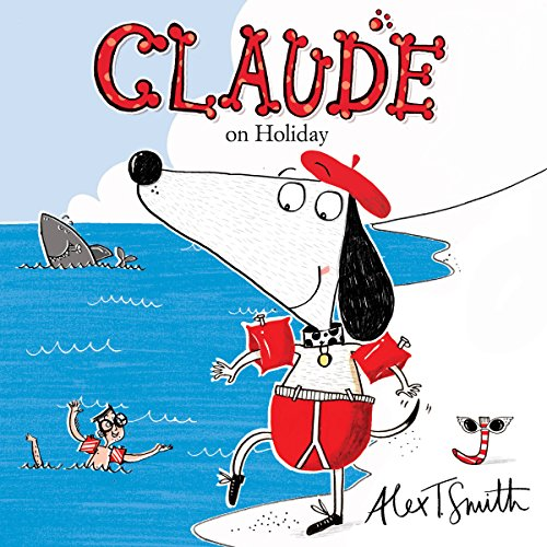 Claude on Holiday audiobook cover art