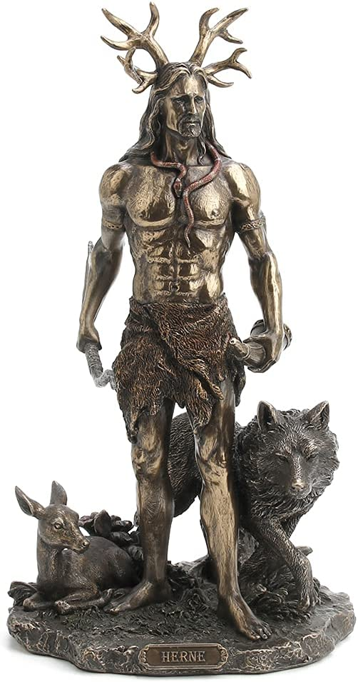 Veronese Design 11 3 4 Inch Tall Spirit of Online limited product Wind Herne The Hunter New Shipping Free Shipping