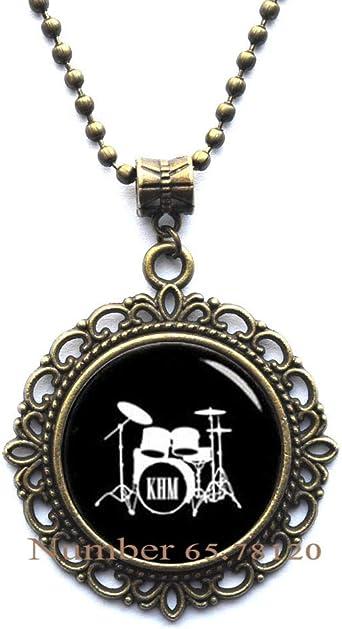 GiftJewelryShop Bronze Retro Style Twelve Drumming Drummers Photo Storybook Anchor Pendant Necklaces #8