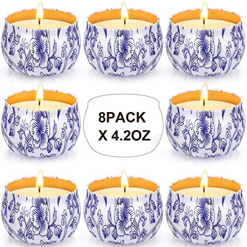 Arosky 8 x 4.2 Oz Citronella Outdoor Indoor and Scented outlet Challenge the lowest price of Japan ☆ Candles
