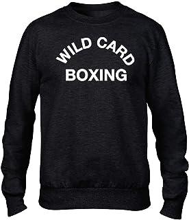 Wild Card Boxing Premium Men's Black Crew Sweatshirt