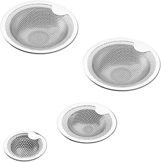 387 opinioni per FineGood, filtro anti-intasamento per lavello da cucina, in acciaio inox, 4