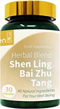 GinSen 2 x Digestive Supplement Pills 60 Caps Shen Ling Bai Zhu Tang Helps Weight Loss Gas Bloating Constipation Gastrointestinal Motility Metabolism Slimming Vegan Vegetarian Made in UK Estimated Price : £ 18,00