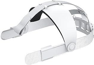 Adjustable Head Strap for Oculus Quest 2 VR Headset, Comfort F OAM Pad, Design Balance Weight, Reduce Pressure, Enhanced S...