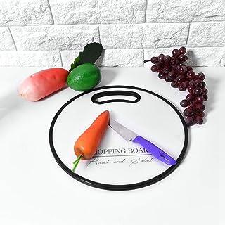 ZengBuks Tagliere in plastica per Frutta Tagliere Multifunzionale Creativo Utensili da Cucina Tagliere in Polipropilene Antiscivolo Magenta