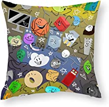 Decorative Pillow Covers Battle for BFDI Throw Pillow Case Cushion Cover Home Office Decor,Square 16 X 16 Inches