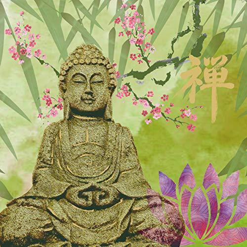 20 Servietten Buddha im Grünen | Asien | Religion 33x33cm