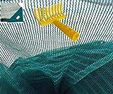 Telo rete raccolta olive antispina pesante con spacco con angolo rinforzato con occhiello OMAGGIO rastrello (mt 6x6)