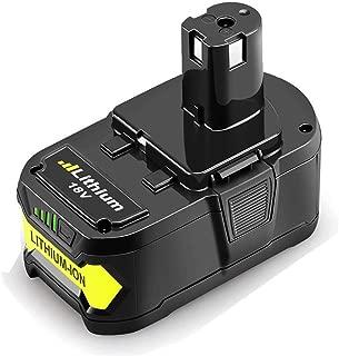 Best ryobi 18v lithium battery p104 Reviews
