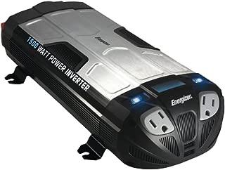 Energizer EN1500 12V Power Inverter 1500W W/ 2 AC & 2 USB Outlets Electronics Computers Accessories