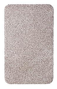 Andiamo Samson 700610 - Felpudo (algodón, lavable a máquina a 30 grados), algodón, beige, 60 x 100