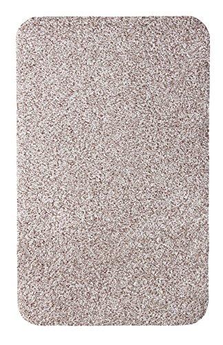 andiamo Schmutzfangmatte Samson waschbare Fußmatte für den Innenbereich, 60 x 100 cm hellbeige