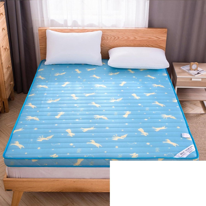 Anti-skidding,fold, Tatami Mattress Mattress Double, Single Bed Student Dormitory mat is-B 90x190cm(35x75inch)