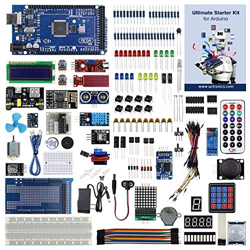 UCTRONICS Ultimate Starter Kit for Arduino with Instruction Booklet, MEGA 2560 R3,...