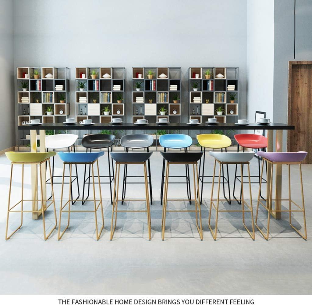 Chaises de Salle à Manger rembourrées pour Le matériau de Cuisine PP/siège incurvé/Pieds en métal doré/Charge 100KG Gray