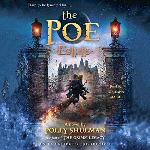 The Poe Estate Audiobook By Polly Shulman cover art