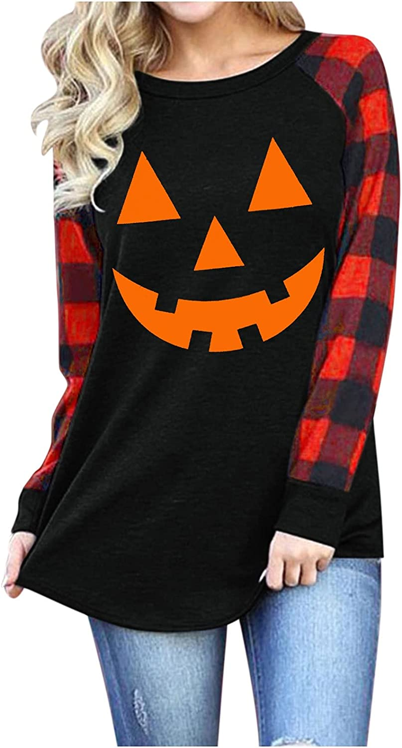 NRUTUP Casual Long Columbus Mall Sleeve Pullover for Cute Women Today's only Loose Crewneck