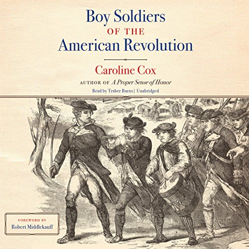 Boy Soldiers of the American Revolution audiobook cover art