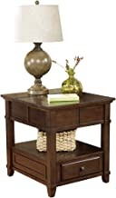 Ashley Furniture Signature Design - Gately End Table - Accent Side Table - Rectangular - Medium Brown