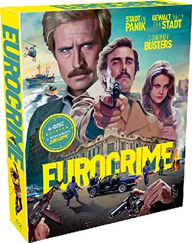 Eurocrime-Box (4 Blu-rays)