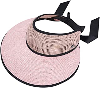 4c1c39ae72a1c0 Scaling Sun Hats Womens Visors Wide Brim Floppy Sun Shade Hat Foldable  Woven Fishing Straw Hat