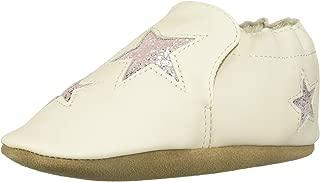 Robeez Baby Girl's Soft Soles Crib Shoe