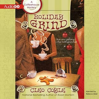 Holiday Grind audiobook cover art