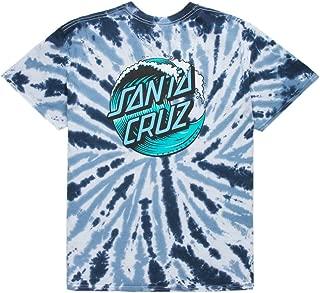 Mens Wave Dot Short-Sleeve Shirt