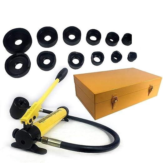 11 opinioni per Punzonatrice idraulica, 22-60 mm 10Ton Hydraulic Punch Hydrauliczne Punzonatrice