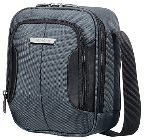 SAMSONITE TABLET CROSSOVER 7.9' (GREY/BLACK) -XBR  Borsa Messenger, 24 cm, Grigio