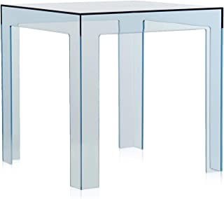 Kartell Jolly, Table Basse, Bleu Ciel