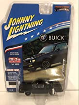 1987 Grand National GNX (Black) Limited Edition to 3,600 Pieces Worldwide 1/64 Diecast Model Car by Johnny Lightning JLCP7178