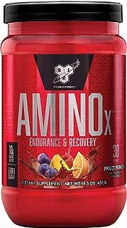 BSN Amino X BCAA poeder, suikervrije aminozuren complex hoge dosis met vitamine D, vitamine B6, arginine, taurine en alani...