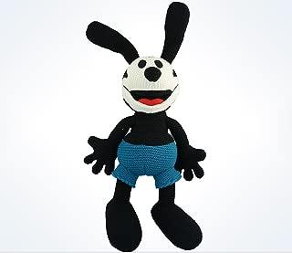 Disney Parks Oswald the Lucky Rabbit 15 inch Knit Plush Doll NEW