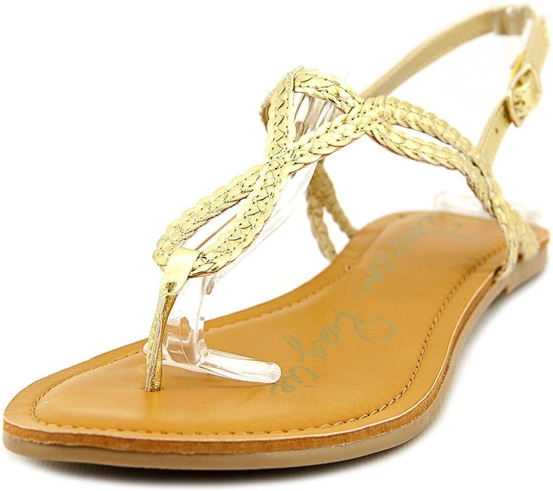 American Rag Keira Women US 11 gold Thong Sandal