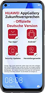 Huawei P40 Lite Smartphone, Dubbel-SIM, 128 GB, Midnattsvart