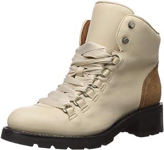 FRYE Women's ALTA Hiker Combat Boot, off off white, 9.5 M US