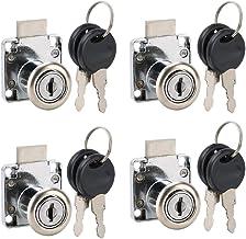 Fdit Kantoortafel Ladeslot Brievenbus Kabinet Juwelendoos Slot Cilinderslot Sleutel Accessoire Set 4Pack